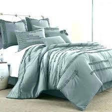 light gray ruffle comforter grey king teal