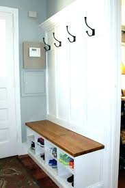 Front Door Coat Rack Impressive Entryway Coat Rack Front Entry Bench Way Best Ideas On With And
