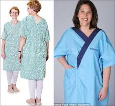 Hospital Gown Pattern Adorable The Problematic Hospital Gown By Marian T Horvat