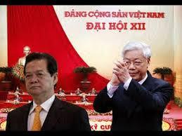 Image result for Pictures of Nguyễn Phú Trọng và Nguyễn Tấn Dũng