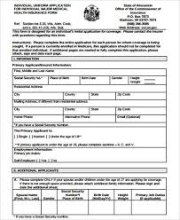 Postal life insurance and rural postal life insurance policyholders are facing difficulty in approaching post offices for payment of premium inspite of the fact that many post offices are functional as part of essential services. 10 Insurance Application Forms Pdf Free Premium Templates