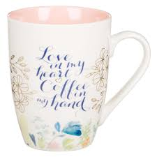 Our diverse selection has something for everyone. Love In My Heart Ceramic Coffee Mug