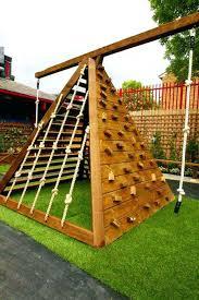 diy outdoor climbing wall ad backyard projects kid 4 diy outside climbing wall