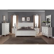 Discount King Furniture Fresh Regitina White 6 Piece King Size