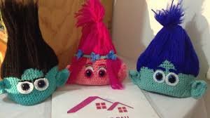 Trolls Crochet Hat Pattern Gorgeous Troll Gorro A Crochet Parte 48 YouTube