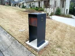 dual mailbox post modern wooden double wood plans design ideas95 design