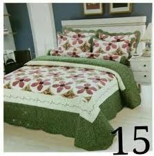 100 cotton patchwork bedding set cadar cotton super queen 3in1 d15