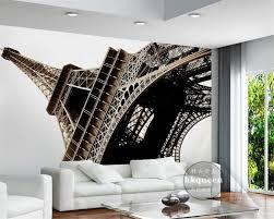 Paris Wallpaper Bedroom Beibehang Modern Simple Paris Eiffel Tower Satin Fashion European