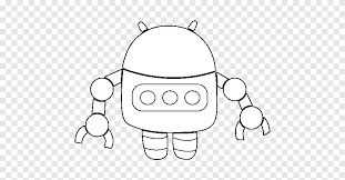 Why not try to make your own drawing? I Robot Drawing Coloring Book Dessin Anime Robot Angle White Png Pngegg