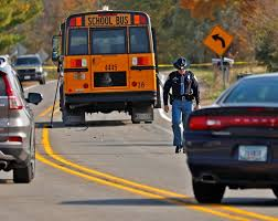 Indiana bus stop accident: See photos from the scene