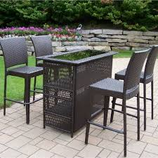 contemporary patio furniture. Dining Room Great Contemporary Outdoor Furniture Bar Sets For With Regard To Patio Ideas 4