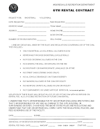 This employment contract template is available for use on upcounsel. Gym Rental Contract Template Pdf Format Download Pdfsimpli