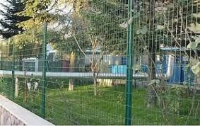black welded wire fence. PVC-Coated Welded Wire Fence Black I