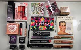 huge makeup haul s swatches mesijesi makeup haul 2017 insram