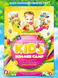 Kids Summer Camp Flyer Psd Template Free Download