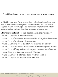 Mechanical Engineer Resume Objective Resume Peppapp