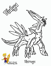 Small Picture Good Looking Pokemon Coloring Pages Dialga 6 mosatt