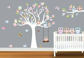 wall decals baby nursery owl wall decals for baby room owl wall decals  designed for kid . wall decals ...
