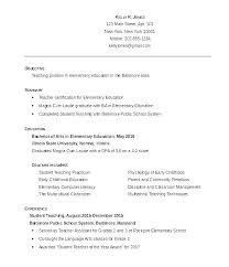 Resume Sample Teacher Best Of Elementary Teacher Resume Sample Sample Teacher Resume Sample