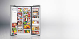 lg refrigerators side by side. adaptable space, advanced cool lg refrigerators side by