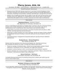 Resume Templates Sample Of Nursing Unbelievable Career Objectives