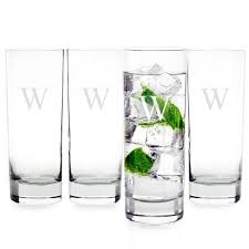 Personalized cocktail glasses Monogrammed Personalized 12 Oz Mojito Cocktail Glasses set Of 4 Cece Me Cece Me Personalized 12 Oz Mojito Cocktail Glasses set Of 4