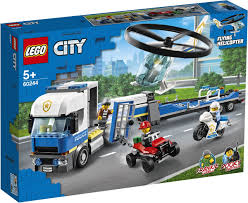 <b>Конструктор LEGO City</b> Police 60244 Полицейский вертолетный ...