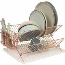 Kitchen Dish Drainer Rack Copper Dish Rack Home Interiors Kitchen Dining Copper