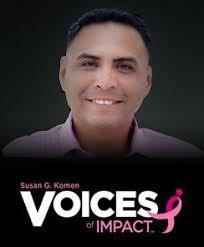 "Voices of Impact – Manuel Hernandez, San Diego, CA – Co-Survivor, Advocate. ""My heritage as a Kumeyaay Indian from the Barona Band of Mission Indians fuels ... - ManuelHernandez_Blog1"