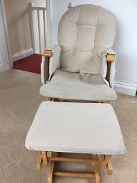 hauck gliding nursing chair and footstool