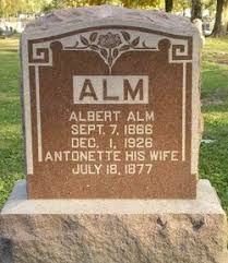 Albert Alm (1866-1926) - Find A Grave Memorial