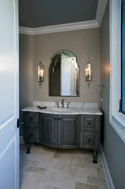 powder room furniture. Formal Powder Room With Grey Stained Furniture Style Vanity Traditional- Powder-room N