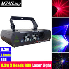 Laser Light Party Machine Us 117 45 13 Off Mini 0 3w 3 Heads Rgb Laser Light Dmx512 Stage Laser Light 20kpps Dj Bar Party Stage Light Led Effect Light Stage Machine In Stage