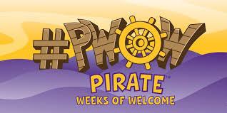 Welcome Purple Pirate Weeks Of Welcome Weeks Of Welcome Ecu