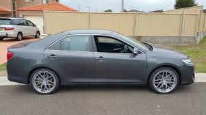 Toyota Camry Hybrid custom wheels Vertini Magic 20x, ET , tire ...