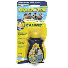 Aquachek Select Color Chart Aqua Chek Select 7 In 1 Test Kit 50 Ct Royal Swimming