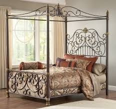 Mediterranean Bedroom Decor Bedroom Decorative Pillows Design With Wrought Iron Bed Frames