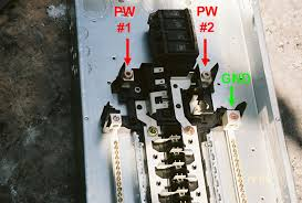 electrical distribution panels & circuit breaker fires Eaton Fuse Box 200 Amp power and ground cable connections 200 Amp Fuse Block