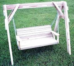 porch swings with frames post wooden yard swing wood canopy frame standing patio pic kit porch swings