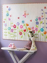 DIY Decor: Miniature Appliqué Quilt | Mini quilts, Free baby quilt ... & DIY Decor: Miniature Appliqué Quilt Adamdwight.com