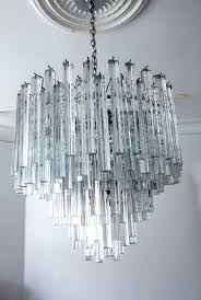 stunning glass chandelier modern adorable modern glass chandelier for interior home design