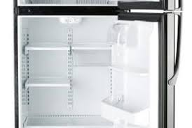 open refrigerator. the evaporator coils work to keep your refrigerator cool. open
