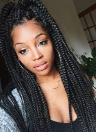 Hairstyles For Girls 62 Best 24 Best Big Box Braids Styles With Images Pinterest Box Braids