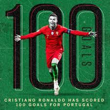Cristiano Ronaldo scores 100th international goal for Portugal with  stunning free-kick vs Sweden ~ AFRONAIJA NEWS