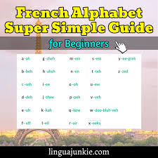French pronunciation is represented by a small number of ipa characters. Easy French Alphabet For Beginners With Pronunciation Audio