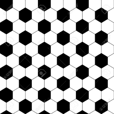 Soccer Ball Pattern Unique Black And White Hexagon Soccer Ball Seamless Pattern Vector Royalty