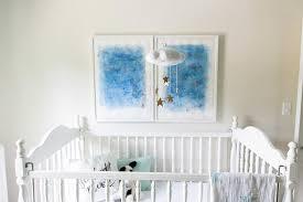 blue stars crib bedding