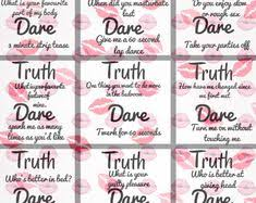 Truth Or Dares 100 Dirty Truth Or Dare Questions For Teens Adults Couples The