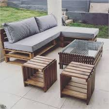 Outdoor Table Made Of Pallets