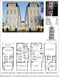 dc row house floor plans unique brownstone row house floor plans bibserver